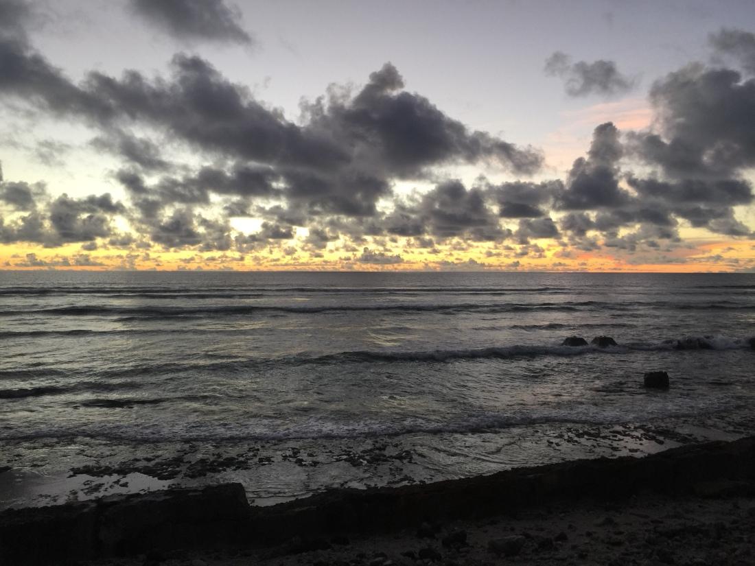 Sunrise from Kwaj