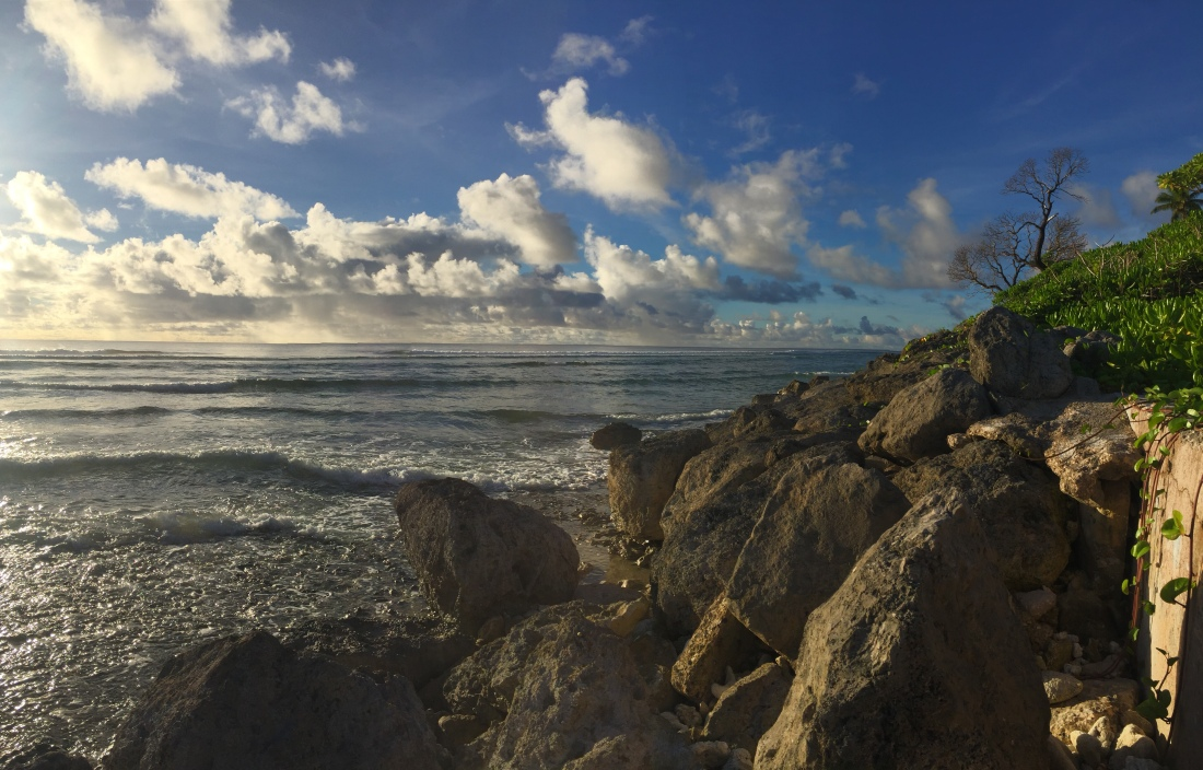 Oceanside view from Kwajalein