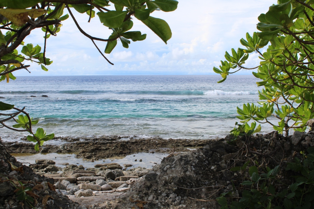 Ocean view from Kwajalein