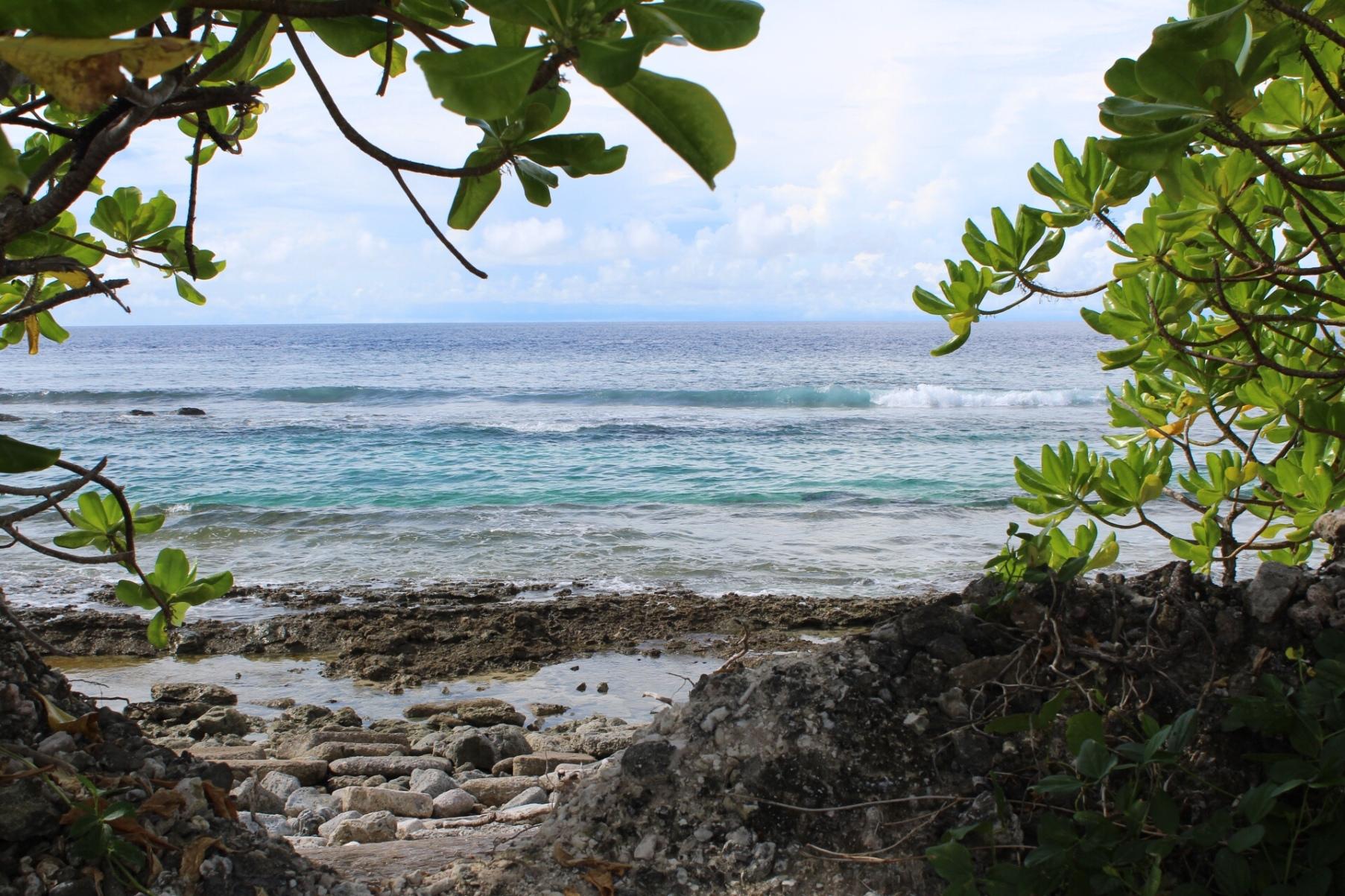 Ocean view from Kwajalein