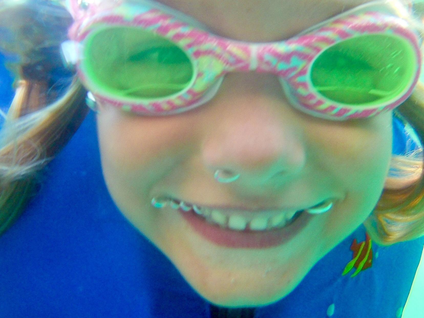 Nora underwater